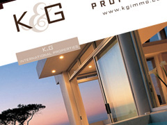 K&G Immobilier Internationnal Properties - Web-design