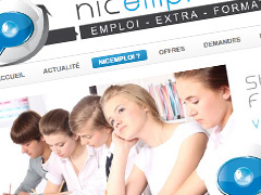 Nicemploi - Site d'annonce emplois stage formations extras